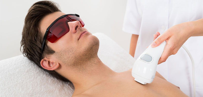 Top 3 Reasons Why Laser Hair Removal Is Beneficial For Men