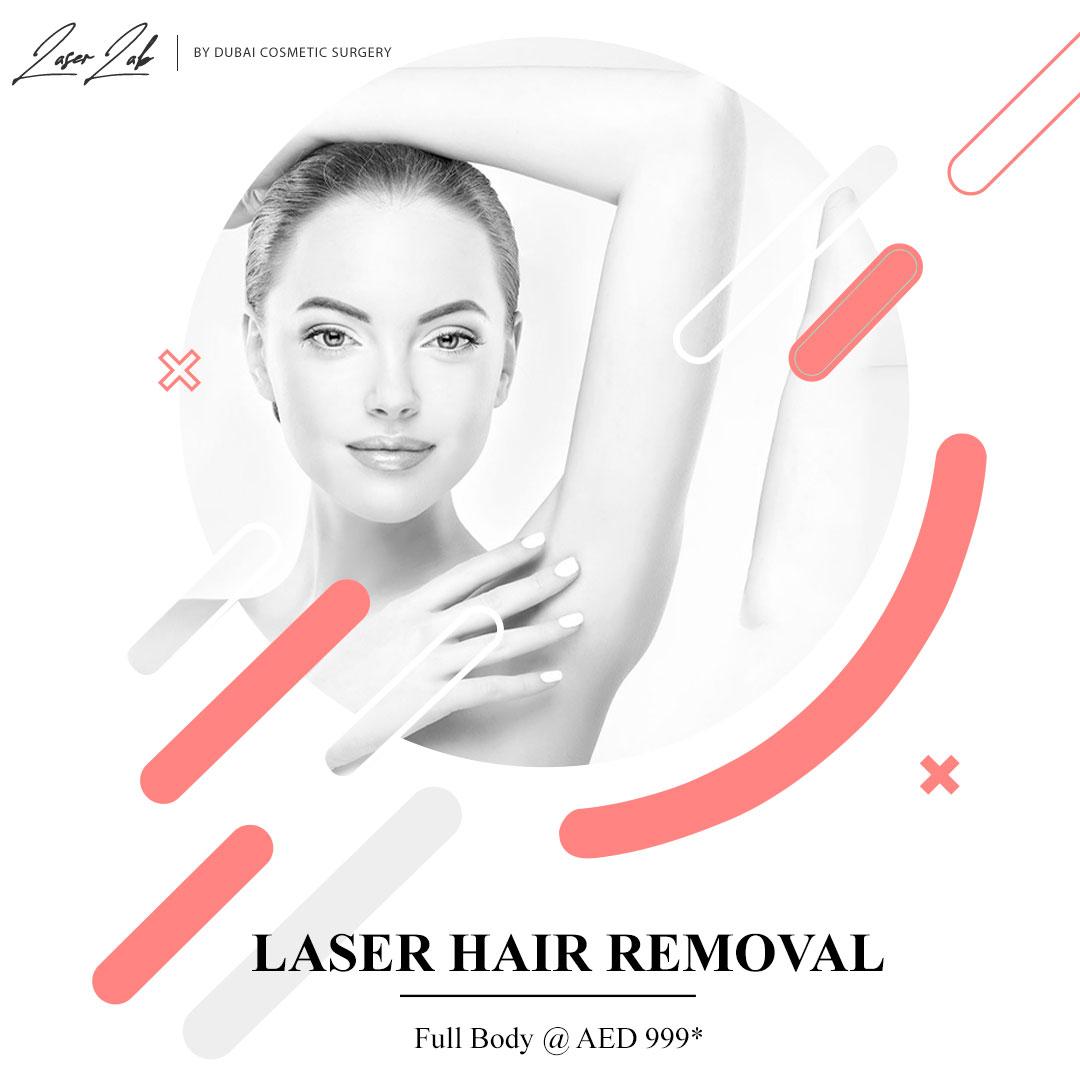 full body laser hair removal